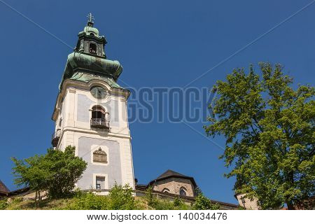 Church Of The Old Castle In Banska Stiavnica