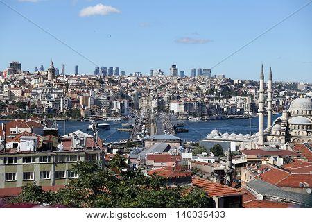 Istanbul City In Turkey