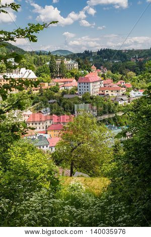 View Of The City Banska Stiavnica