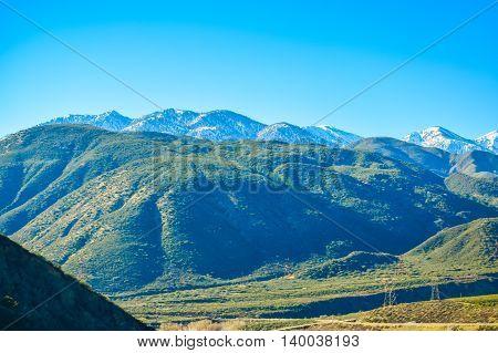 California Sierra Mountains