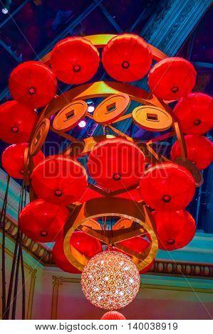 Chinese Chandelier  Lanterns