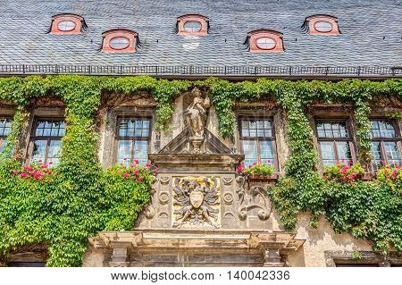 City Hall In Quedlinburg, Germany