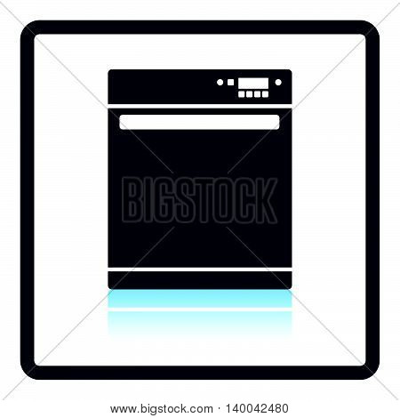 Kitchen Dishwasher Machine Icon