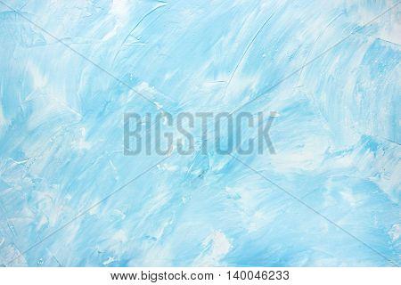 White blue stone concrete plaster blank background