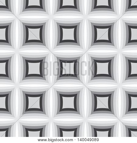 Abstract monochrome seamless pattern. Can be used for web print and book design home decor fashion textile wallpaper.