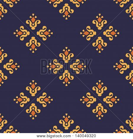 Vintage seamless pattern. Can be used for web print and book design home decor fashion textile wallpaper.