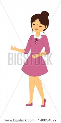 Girl vector illustration