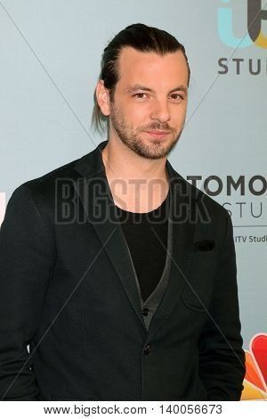 LOS ANGELES - JUN 16:  Gethin Anthony at the Aquarius Season 2 Premiere Screening Arrivals at the Paley Center For Media on June 16, 2016 in Beverly Hills, CA