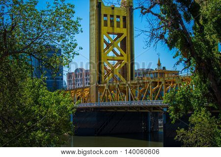 Tower Bridge Sacramento California