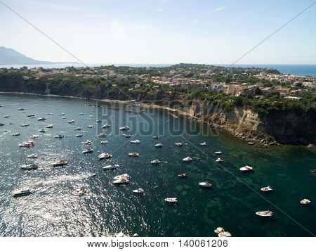 Aerial View of Procida Island, Italy