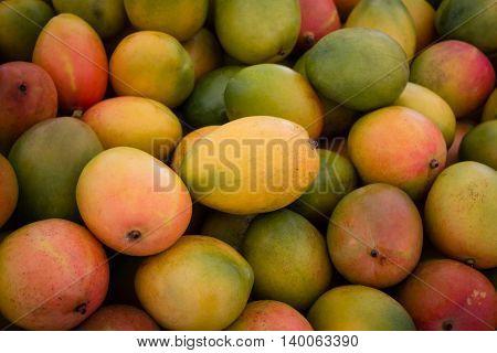 Pile Of Fresh Mango Fruits