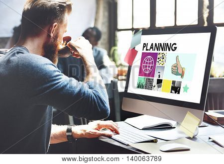 Managment Planning Business Project Concept