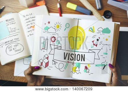 Vision Ideas Inspiration Imagination Creation Concept