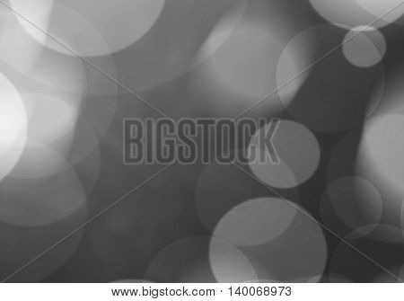 Black abstract light effect background holiday card.