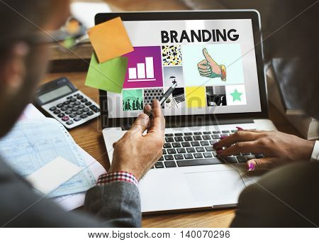 Branding Advertising Copyright Marketing Concept