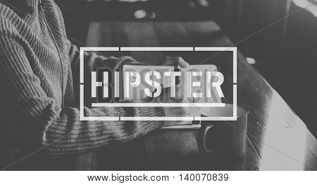 Hipster Stylish Modern Fashion Concept
