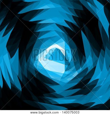 Abstract space blast background illustration - Vector background template. EPS