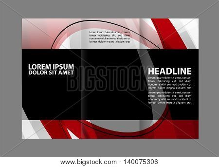 Multipurpose Tri-fold Brochure and Catalog Vector Design