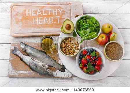 Good Food For Healthy Heart.