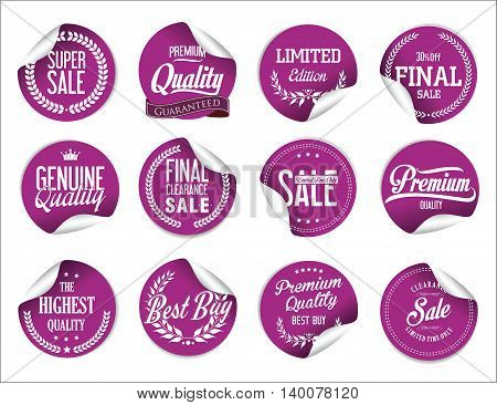 Sale Price Tag Modern Design Collection 3.eps