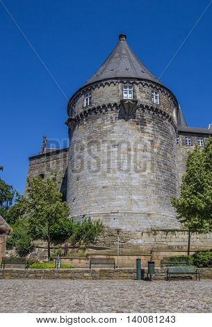 Batterieturm Tower In The Fortified Wall Of Bentheim Castle