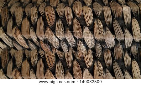 Ship wooden rope lines curl isolated background