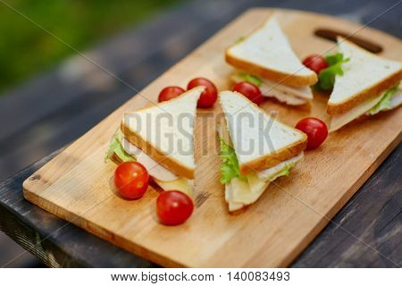 Appetizing snack