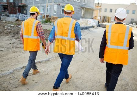 Inspectors after work