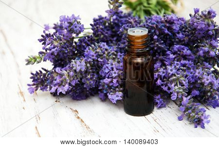 Lavender And Massage Oil