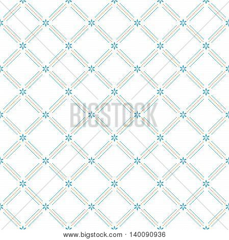 Geometric abstract vector colorful background. Seamless modern pattern