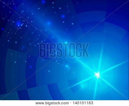 Soft colored abstract background with beam light.. Vector illustration.