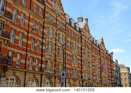 Building in central London with typical imperial view.