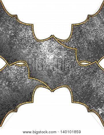 Metal Pattern. Template For Design. Copy Space For Ad Brochure Or Announcement Invitation