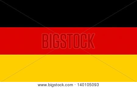 Illustration image of the Flag of Germany