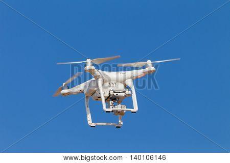 Drone Camera Blue Sky