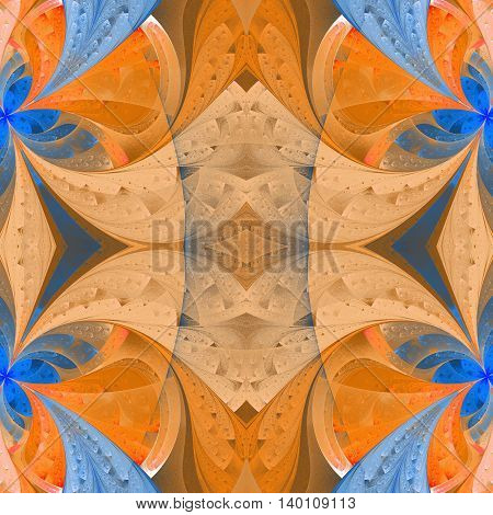 Seamless background in stained glass window style. You can use it for invitations notebook covers phone case postcards cards wallpapers and so on. Artwork for creative design art and entertainment.