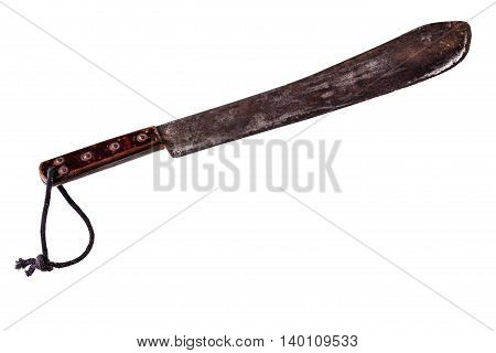 Rusty Machete Isolated