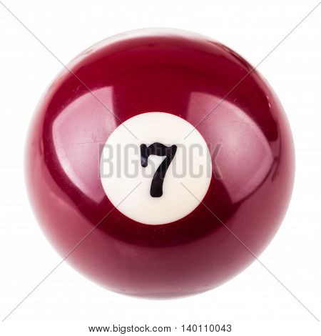 Pool Ball Seven