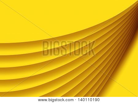 yellow background abstract design landscape orientation vector illustration