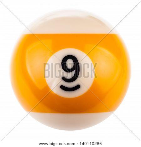 Pool Ball Nine