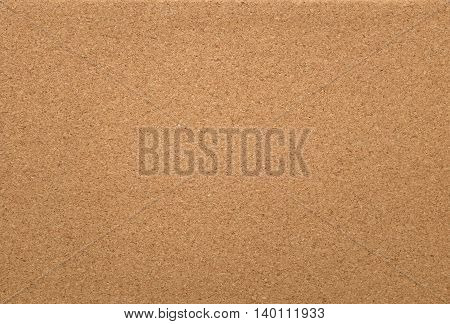 Empty Cork Memo Board Background