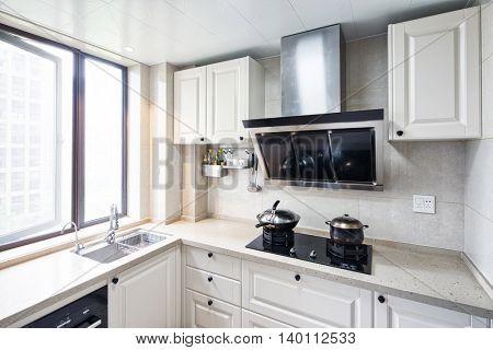 decoration and design in modern kitchen