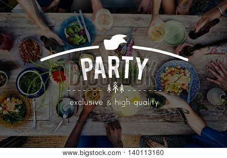 Party Celebration Meal Food Guest Concept