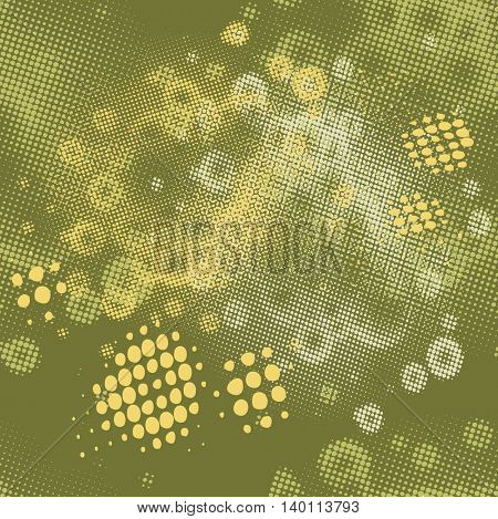 Abstract seamless pattern. Seamless pattern with dots. Vector pattern. Dots pattern. Vector illustration.