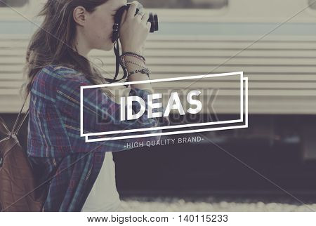 Ideas Creativity Thinking Objective Vision Concept