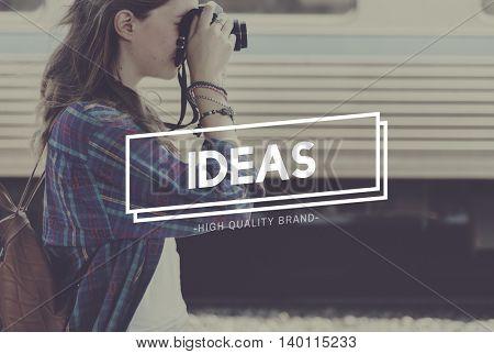 Ideas Creativity Thinking Objective Vision Concept