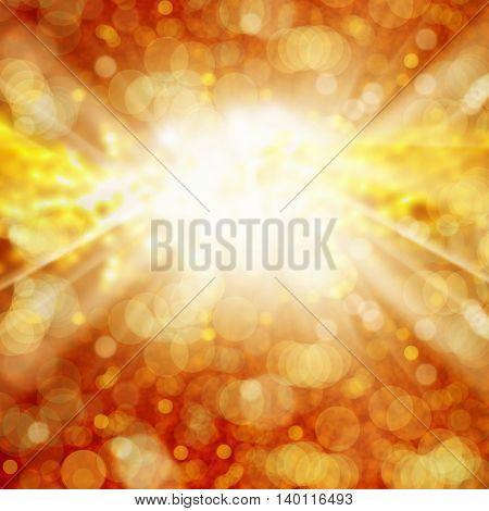 Digitally Generated Image of lights