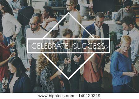 Celebrate Enjoyment Event Fastive Social Party Concept
