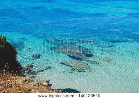Sardegna beach. Roadtrip around Italy exploring Sardegna.