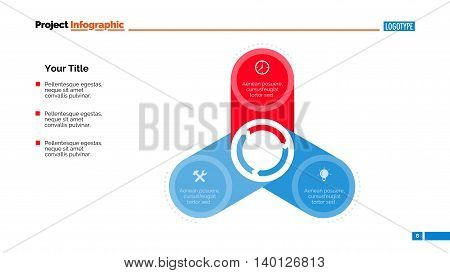 Process chart slide template. Business data. Graph, diagram, design. Creative concept for infographic, templates, presentation, report. Can be used for topics like teamwork, management, planning.
